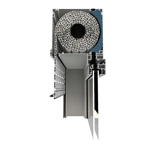 εξοπλισμός ρολα αλουμινιου thermo vada