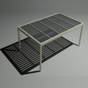 Πέργκολα αλουμινίου 5×3m