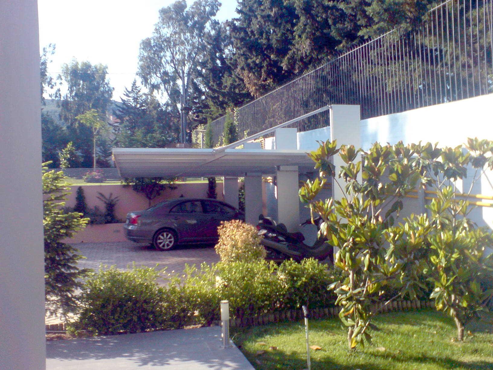 Στέγαστρο garage G2007M